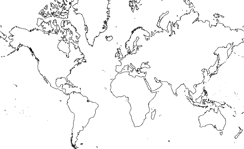 World map for kids to label blank world map for kids to label gumiabroncs Image collections